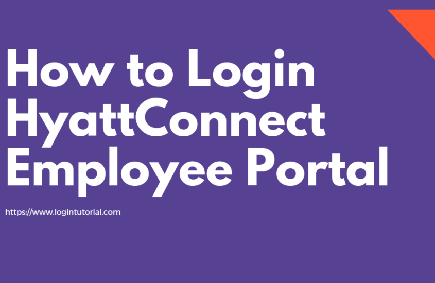 How to Sign In or Log In to HyattConnect Employee Portal