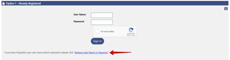PUA Retrieve User Name or Password