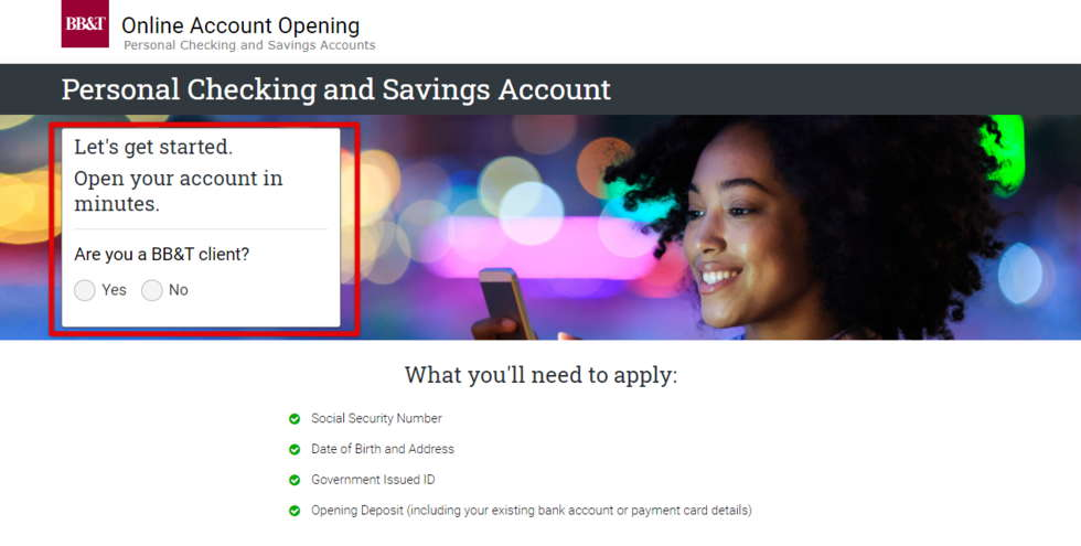 BB&T Client or Not