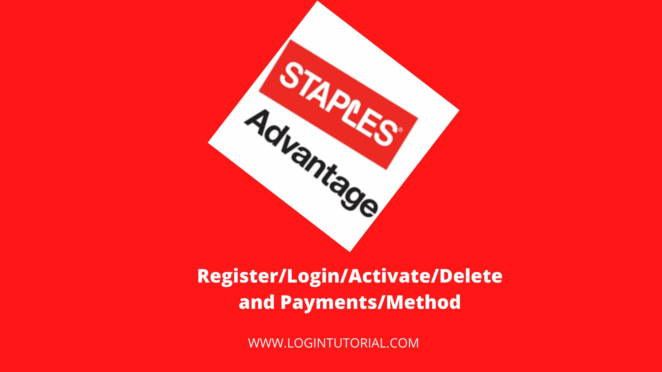 staples advantage login guide