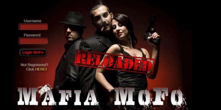 Mafia MoFo Reloaded Login Page