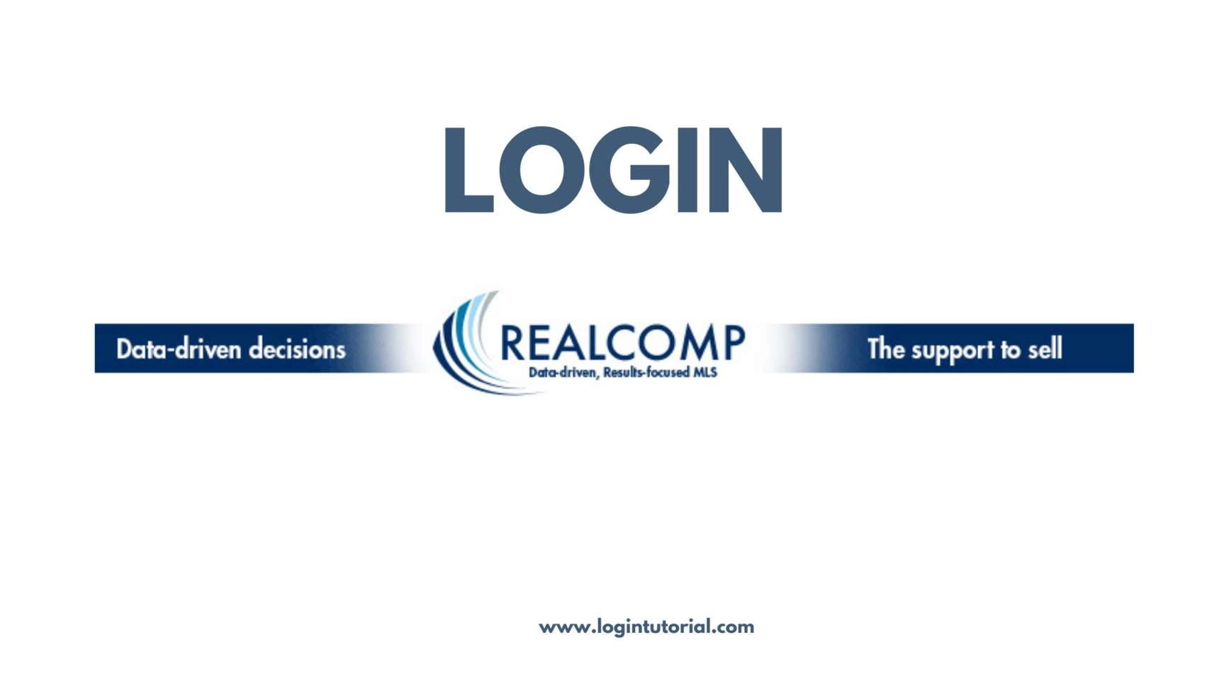 Realcomp Online Login