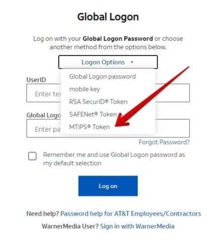 MyCSP AT&T MTIPS Login