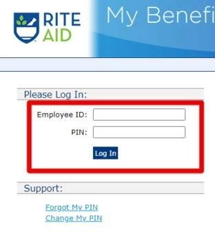 Rite Aid My Benefits Center Login