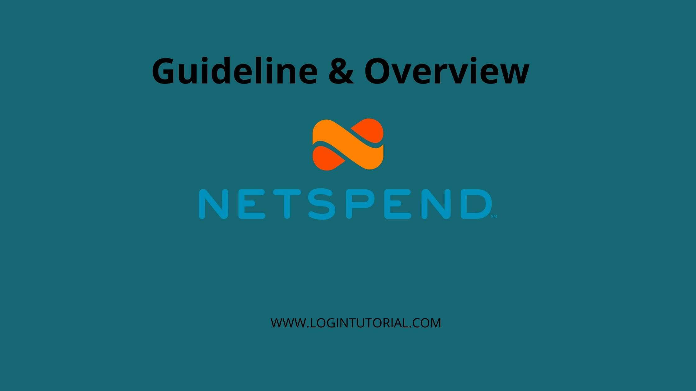 All About NetSpend Login