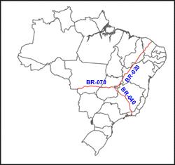 rodovias radiais do Brasil
