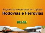 programa investimento logistica rodovia ferrovia