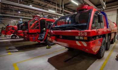 Eine von insgesamt 4 Feuerwehren auf dem Flughafengelände
