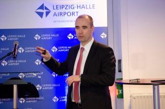 Vorstandsmitglied und Flughafengeschäftsführer Johannes Jähn