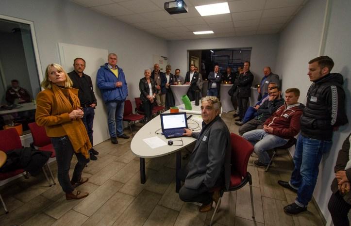 Unternehmensvorstellung beim 82. Netzwerkabend; Foto: Andreas Reichelt