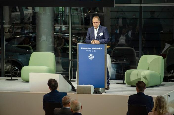 """Thomas Riediger, Leiter """"Produktion der Zukunft"""", Volkswagen AG"""