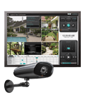 Peace of mind in a box Weatherproof, night-vision video security