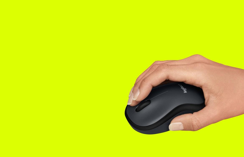 Ratón Logitech M220 Silent para productividad inalámbrica y silenciosa