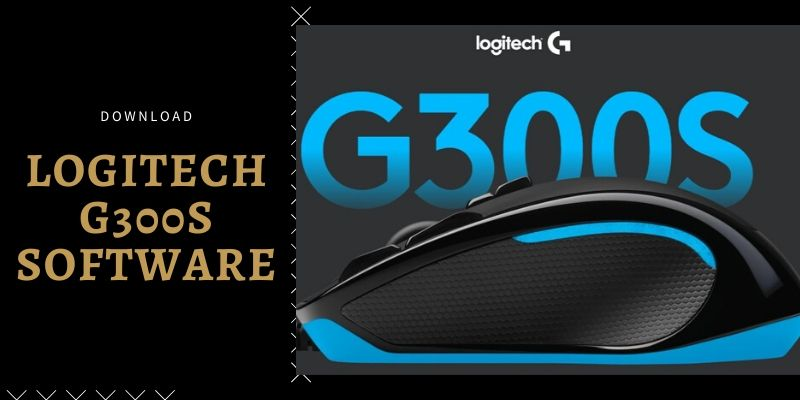 Logitech g300s software and driver