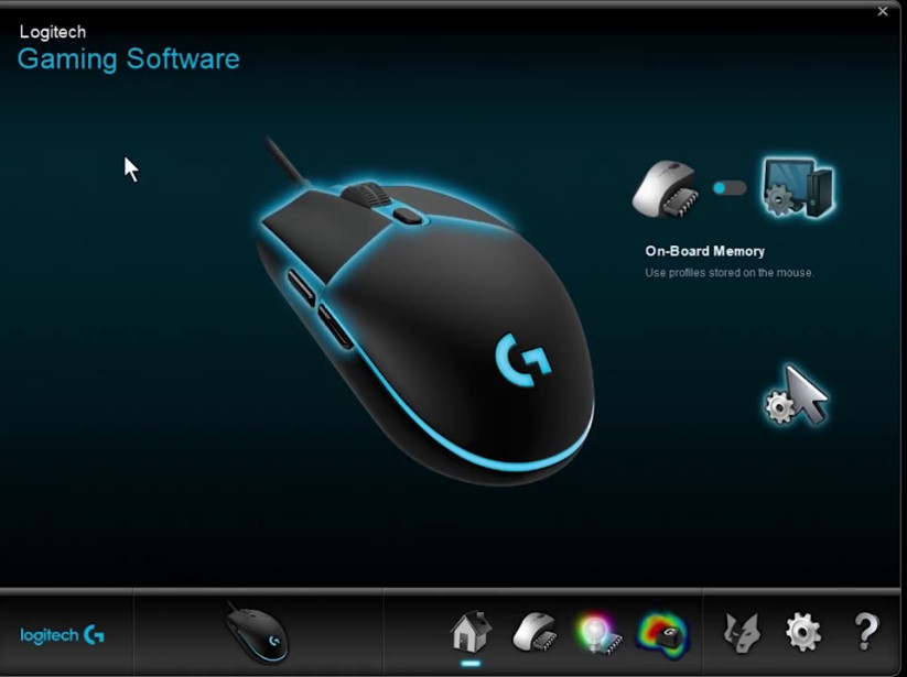 Logitech gaming software G203
