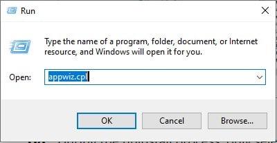 Windows 10 uninstall a program shortcut