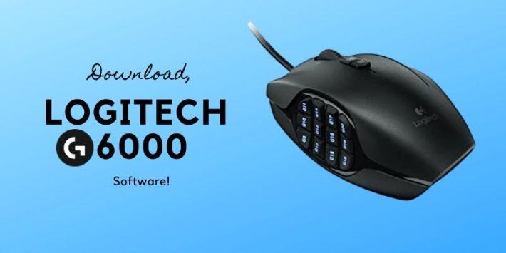 Logitech G600 software