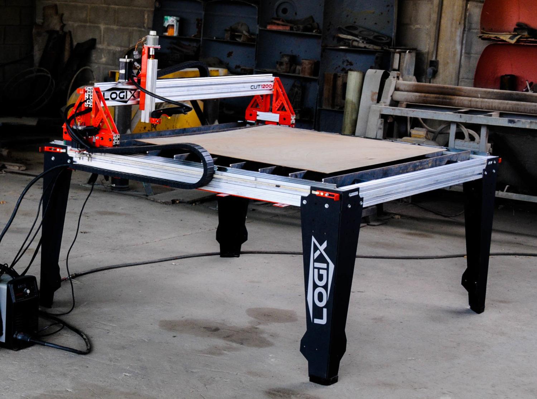 Cut 1200 4 215 4 Cnc Plasma Table Logix Cnc