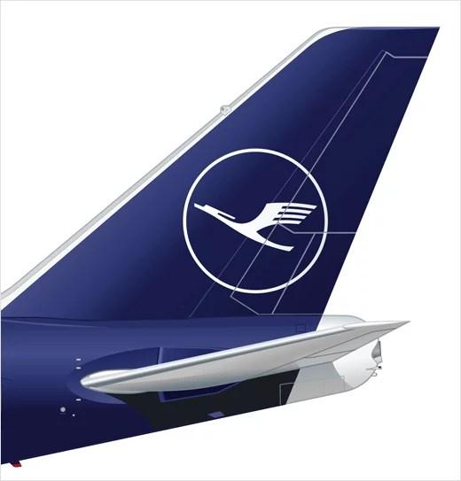 Lufthansa Reveals New Logo And Branding Logo Designer