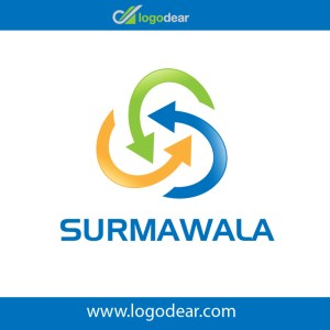 Surmawala arrows recycling icon original vector file free download