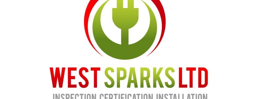 West Sparks ltd logo design