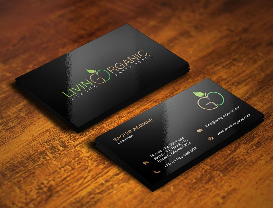 Living Organic Business Card