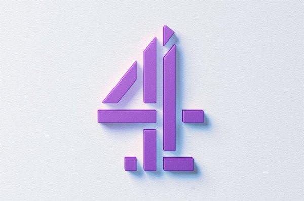 Channel 4 rebrand Logo Design Love