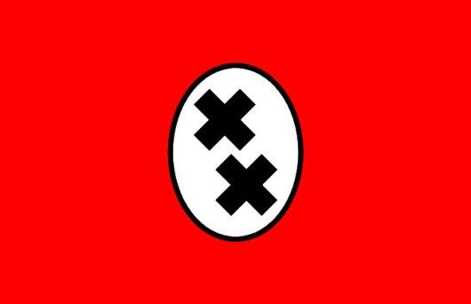 Double cross logo, Charlie Chaplin