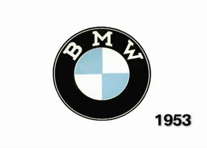 BMW logo 1953
