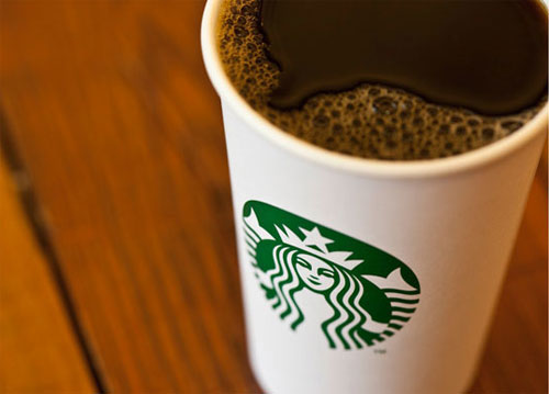 Starbucks logo on cup