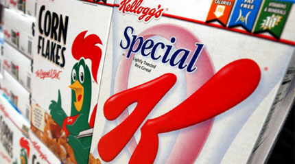 Kellogg's packaging design