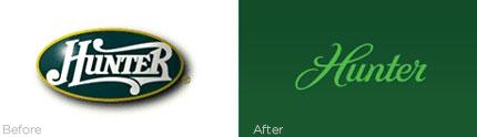 Hunter logo redesign