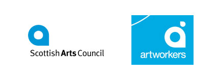 scottish arts council artworkers logos