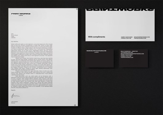 Printworks stationery