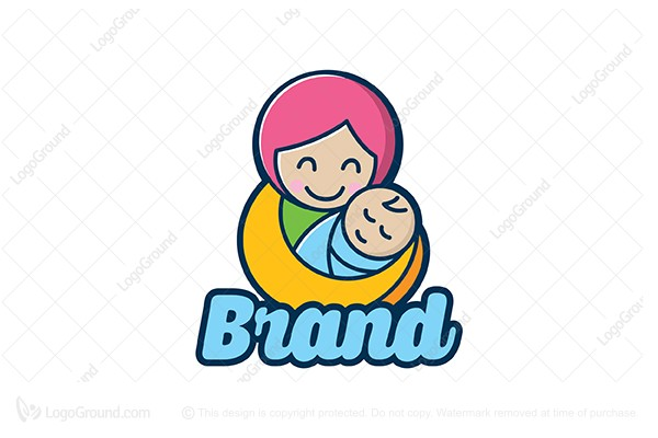 Mom And Baby Logo