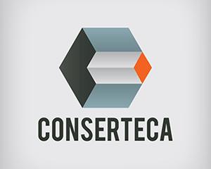 conserteca inşaat logo tasarımı