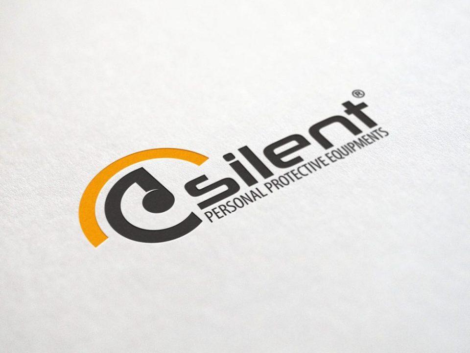 silent iş güvenliği logo tasarımı