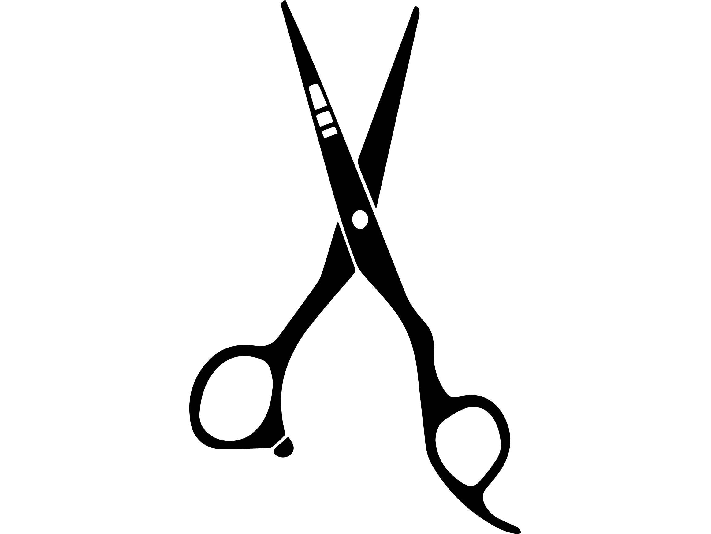 Barber Scissors Logos
