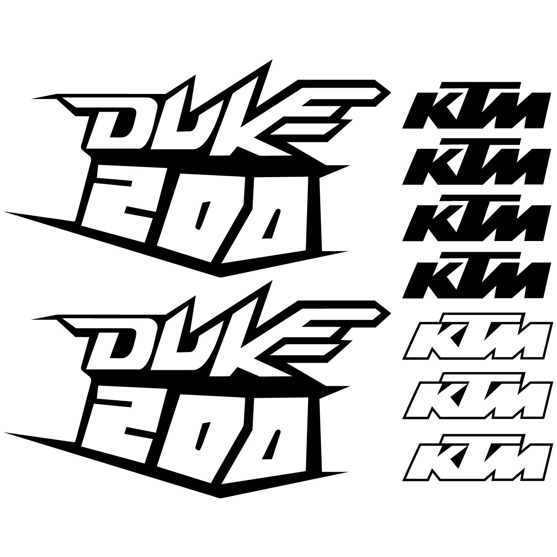 Duke 200 Logos