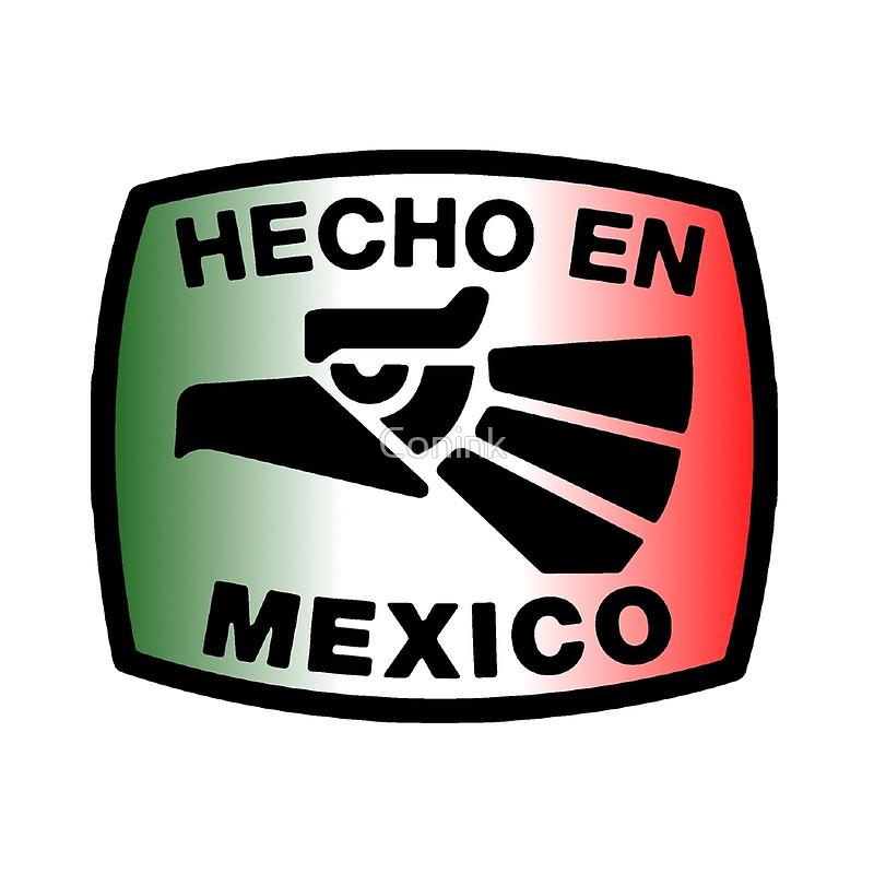 Hecho En Mexico Logo Vector Orgullo De Mexicanos Mexico Tattoo