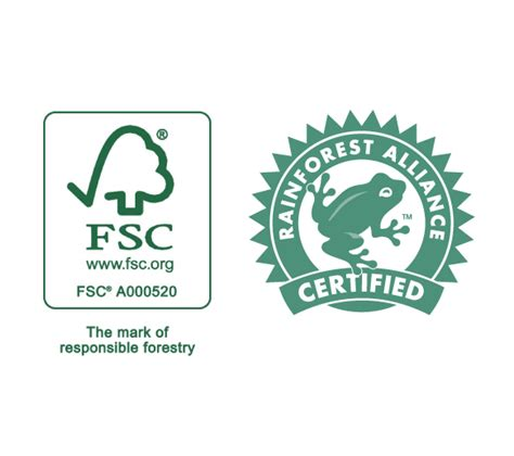 Find rainforest alliance certified products available near you! Forest Stewardship Council Logos