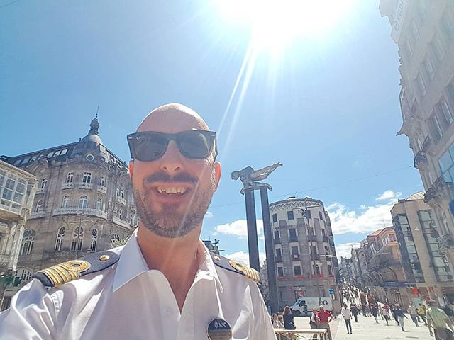 Strolling in a sunny day in Vigo, Spain #cruise #crew #sailing #travel #traveling #visiting #traveler #instatravel #instago #instagood #trip #photooftheday #travelling #tourism #tourist #instapassport #instatraveling #mytravelgram #travelgram #travelingram #igtravel #instalife #travelblog #officer