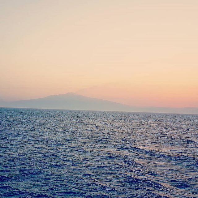 Sailing the straight of Messina with Etna Volcan that dominate the sunset #mscseaview #msccruises #cruising #cruise #crew #sailing #travel #traveling #traveler #instatravel #instago #instagood #trip #photooftheday #instapassport #instatraveling #mytravelgram #travelgram #travelingram #igtravel #instalife #travelblog #sea #travelstoke
