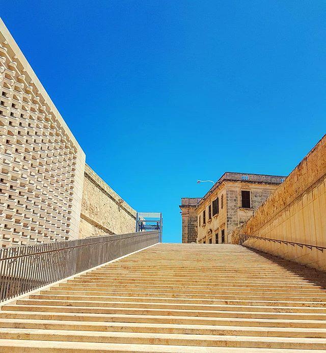 The metaphysics stairs to heaven #malta #lavalletta #architecture #cruising #cruise #crew #sailing #travel #traveling #traveler #instatravel #instago #instagood #trip #photooftheday #instapassport #instatraveling #mytravelgram #travelgram #travelingram #igtravel #instalife #travelblog #sea #travelstoke
