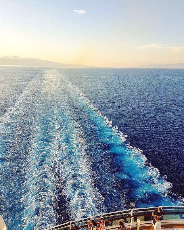 Leaving the strait of Messina  #mscseaview #msccruises #bluesea #waves #cruising #cruise #crew #sailing #travel #traveling #traveler #instatravel #instago #instagood #trip #photooftheday #instapassport #instatraveling #mytravelgram #travelgram #travelingram #igtravel #instalife #travelblog #sea #travelstoke
