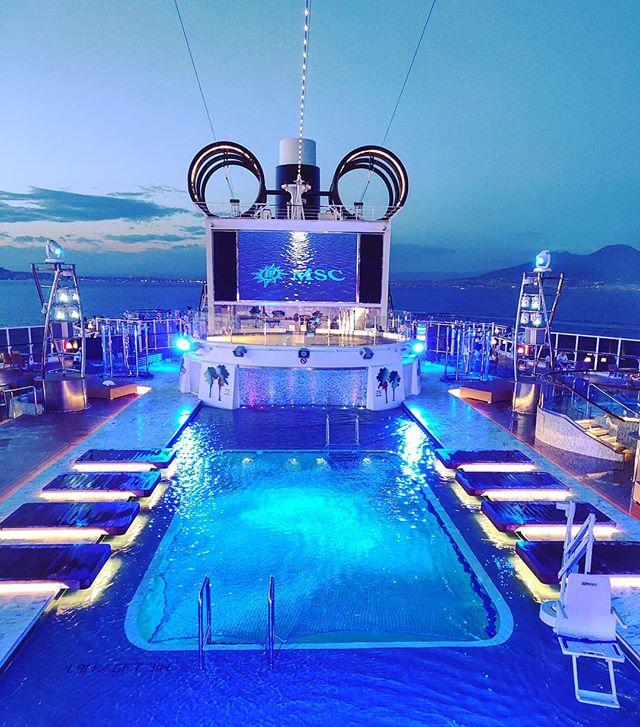 Deep in blue pool  #mscseaview #msccruises #dusk#cruising #cruise #crew #sailing #travel #traveling #traveler #instatravel #instago #instagood #trip #photooftheday #instapassport #instatraveling #mytravelgram #travelgram #travelingram #igtravel #instalife #travelblog #sea #travelstoke