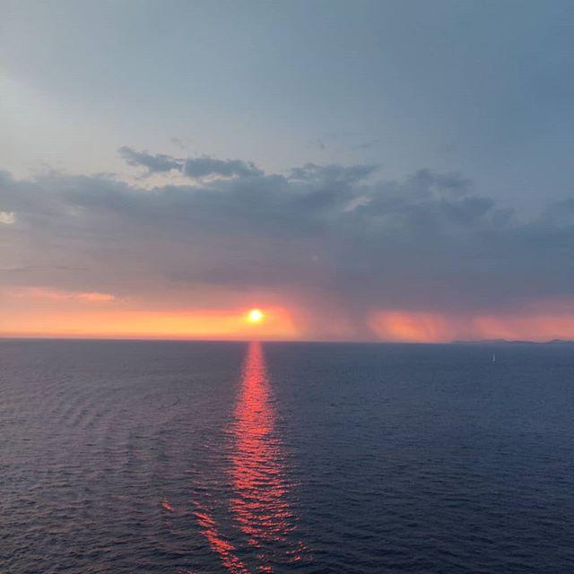 Speechless postcard #mediterranean #nofilter #sunset #cruising #cruise #crew #sailing #travel #traveling #traveler #instatravel #instago #instagood #trip #photooftheday #instapassport #instatraveling #mytravelgram #travelgram #travelingram #igtravel #instalife #travelblog #sea #travelstoke