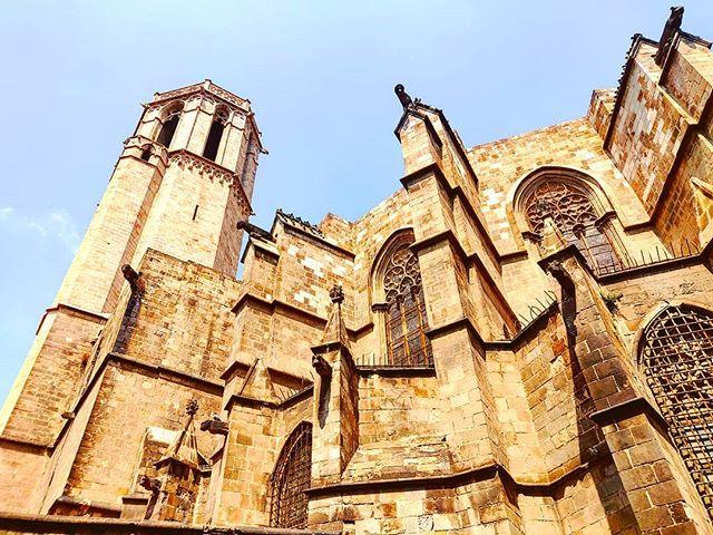 The edge of the faith #cathedral #architecture #barcelona #sky#cruising #cruise #crew #sailing #travel #traveling #traveler #instatravel #instago #instagood #trip #photooftheday #instapassport #instatraveling #mytravelgram #travelgram #travelingram #igtravel #instalife #travelblog #sea #travelstoke