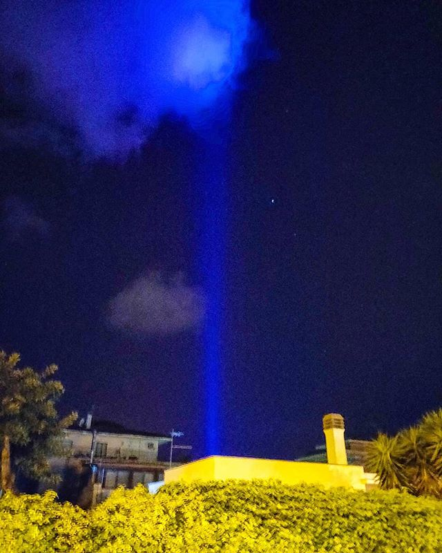The blue call•••#sabaudia #igerslatina #tower #nightshot #cloud #cruising #cruise #crew #sailing #travel #traveling #traveler #instatravel #instapassport #instatraveling #travelgram #travelingram #igtravel #travelblog #sea #travelstoke