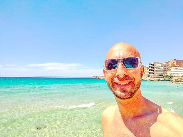Beach mode On ️️ #•••palmademallorca #beach #sand #balearicislands #spain #cruising #cruise #crew #sailing #travel #traveling #traveler #instatravel #instapassport #instatraveling #travelgram #travelingram #igtravel #travelblog #sea #travelstoke #sailor